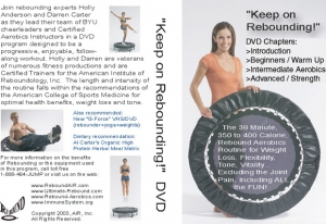 Keep on Rebounding DVD